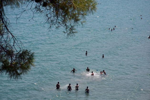 Αργολίδα. Στιγμιότυπο από την παραλία του Τόλου.