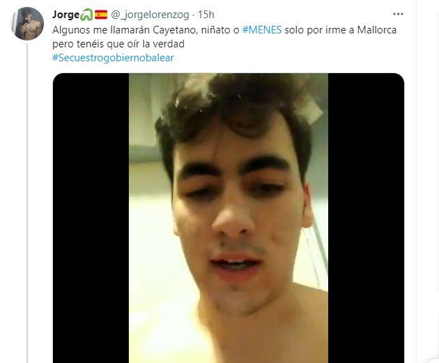 Momento del vídeo de Jorge Lorenzo