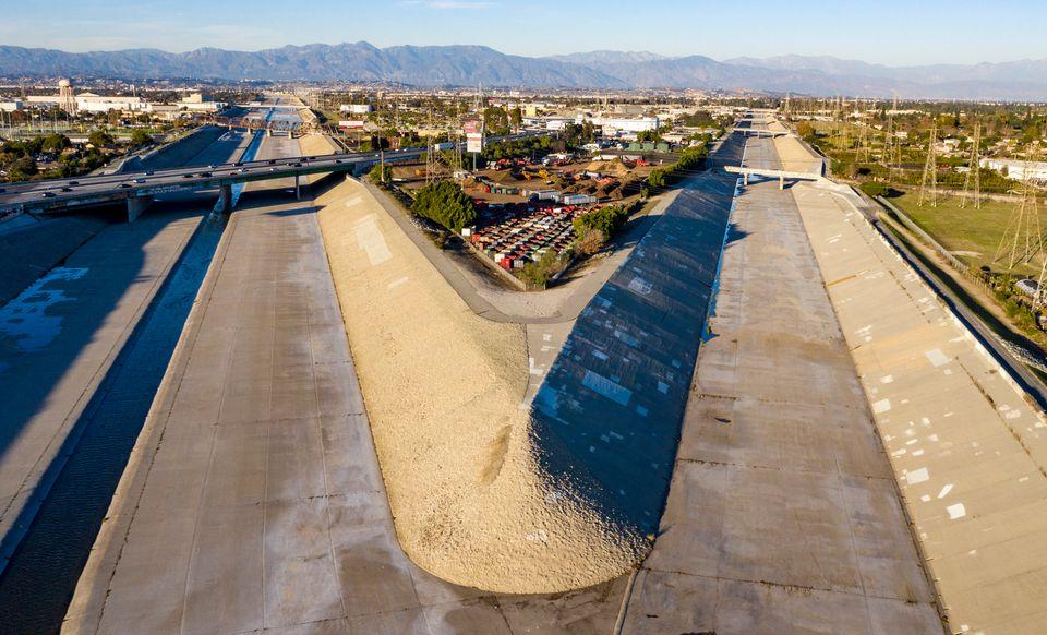Ο ποταμός Λος Άντζελες...
