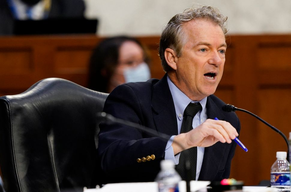GOP Sen. Rand Paul has fashioned himself into an all-out Donald Trump ally, and has spent 2021 spreading conspiracies about e