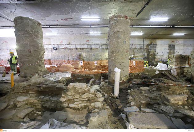 Δημοσιεύθηκε η απόφαση του ΣτΕ για την απόσπαση των αρχαιοτήτων στον σταθμό