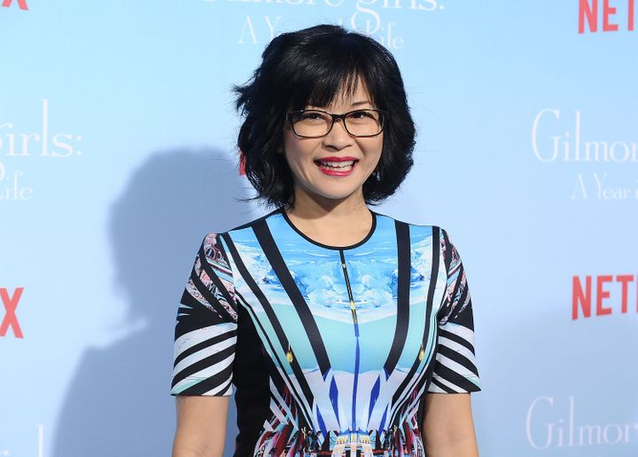"""Keiko Agena attends the premiere of """"Gilmore Girls: A Year in the Life"""" in 2016."""