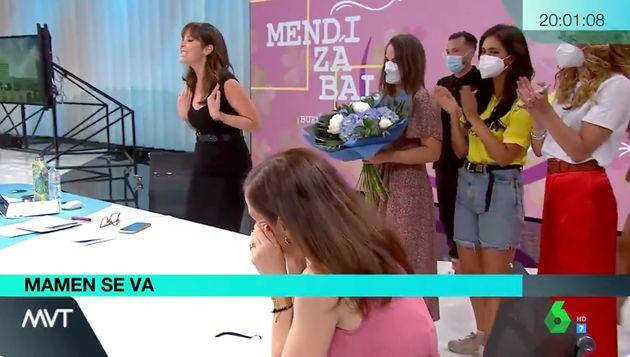 Mamen Mendizábal se despide de 'Más Vale