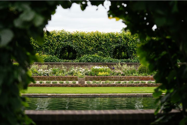 Another look at the gardens, which were first added to Kensington Palace in 1908, thanks to King Edward VII.
