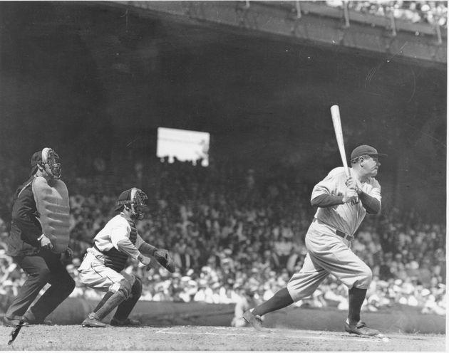 ヤンキース時代のベーブルース