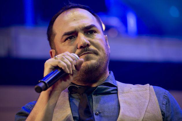 Ismael Serrano, durante un concierto en
