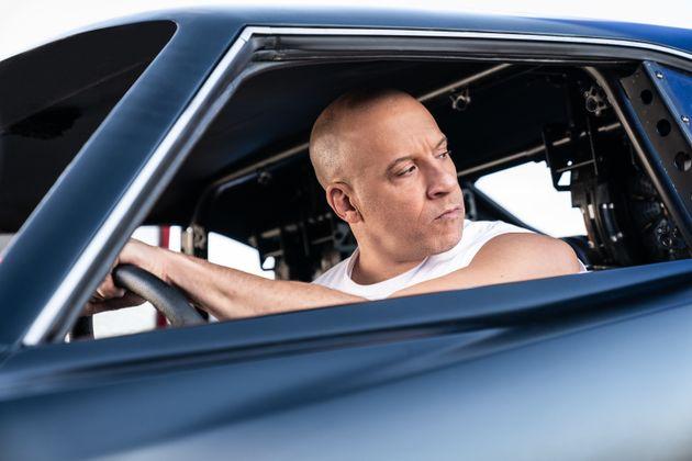 Vin Diesel como Dom en 'Fast and Furious