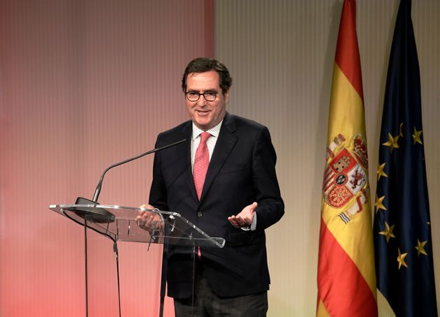 El presidente de la CEOE, Antonio Garamendi, en una foto de