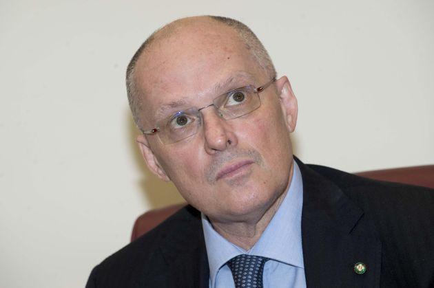 Il presidente dell'Istituto Superiore di Sanità, Walter Ricciardi, durante la