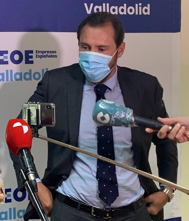 El alcalde de Valladolid, Óscar