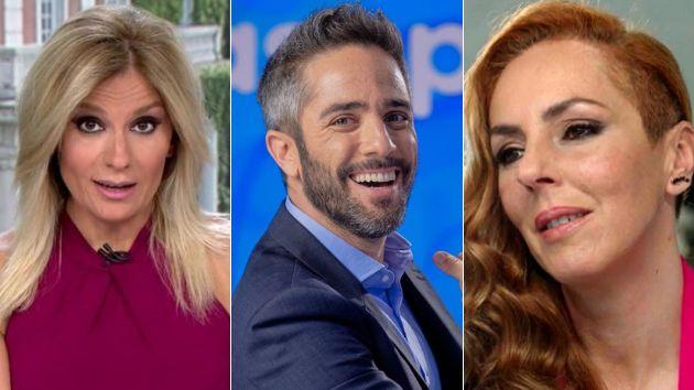 Sandra Golpe, Roberto Leal y Rocío Carrasco, los líderes del curso televisivo.