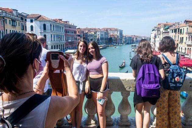 Σέλφι στη Βενετία - χωρίς