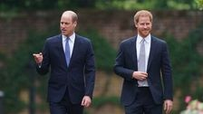 Princes William And Harry Reunite To Unveil Statue In Honor Of Diana's Legacy