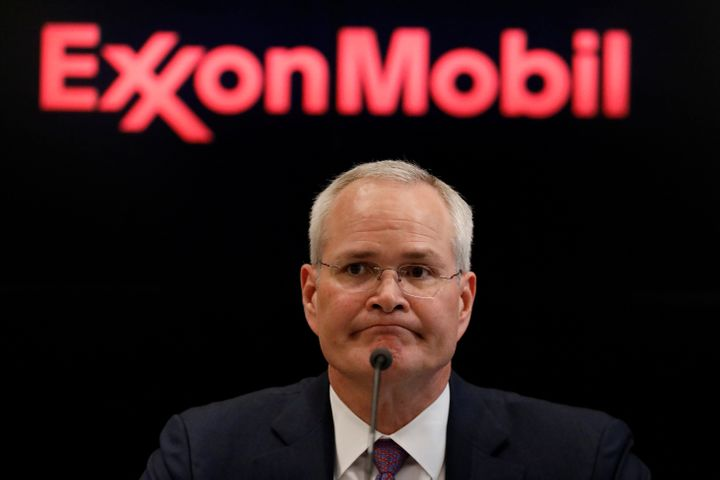 Darren Woods, chairman & CEO of Exxon Mobil Corp., apologized for a video in which one of his senior lobbyists boasted ab