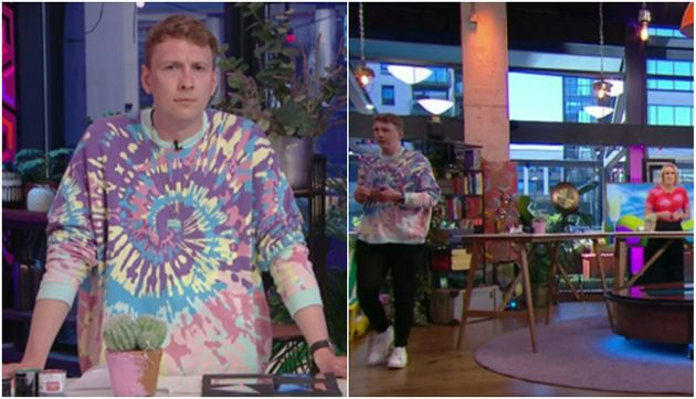 Joe Lycett's walk-off on Steph's Packed Lunch was not all it