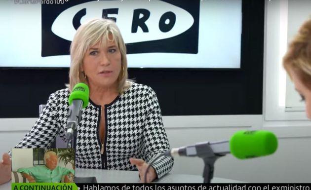 Julia Otero, durante una entrevista en 'Liarla