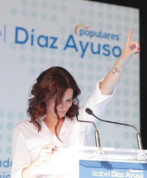 Isabel Díaz Ayuso, presidenta