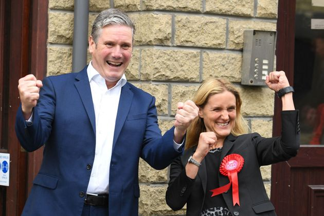 Keir Starmer Says 'Labour Is Coming Home' As He Celebrates Batley and Spen