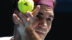 Federer conquista España con su tuit en plena