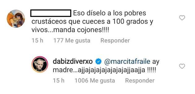 La respuesta de Dabiz
