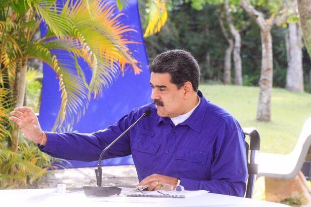 El presidente de Venezuela, Nicolás Maduro, en una imagen de