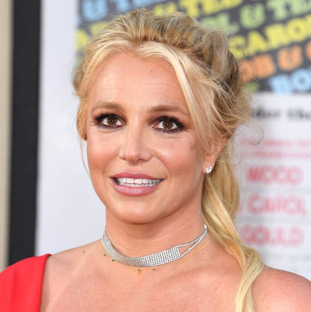 HOLLYWOOD, CALIFORNIA - JULY 22: Britney Spears arrives at the Sony Pictures'