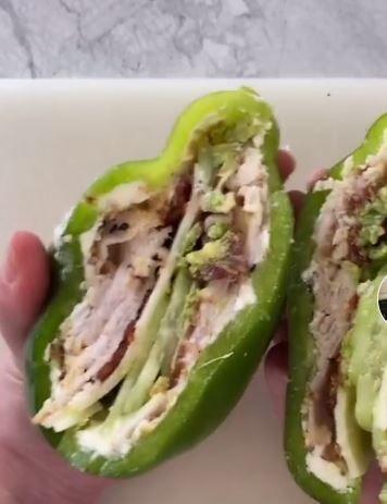 피망 샌드위치
