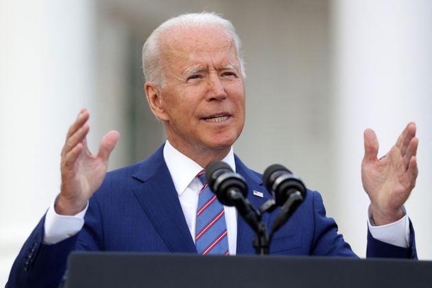 Joe Biden, ici à la Maison Blanche à Washington, le 4 juillet