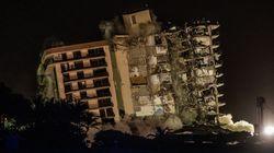 Demolidos con una explosión controlada los restos del edificio colapsado en