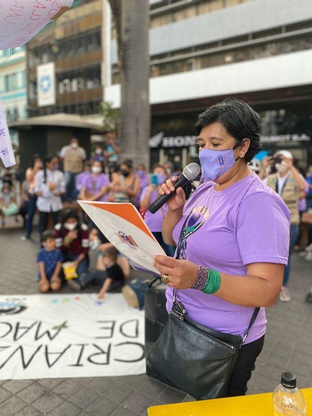 Lita Martínez, directora del Centro Ecuatoriano para la Promoción y Acción de la...