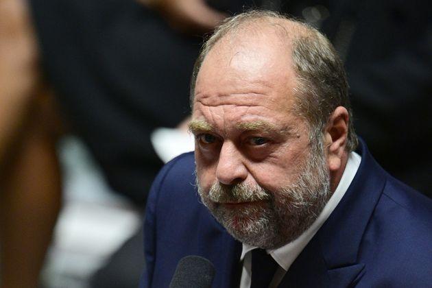 Le ministre de la Justice Éric Dupond-Moretti à l'Assemblée nationale, le 1er juillet