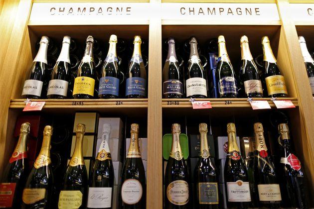 Les producteurs de champagne français