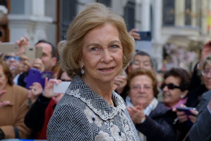 La reina Sofía en una imagen de 2020.