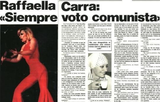 Muere Raffaella Carrà a los 78