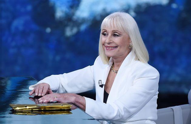 Raffaella Carrà, ici au mois de novembre