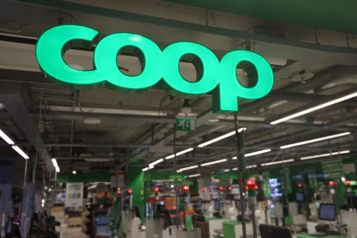 """A shuttered Coop supermarket store is pictured in Stockholm, Sweden, on July 3 during an ongoing """"colossal"""" cyber-attack affe"""