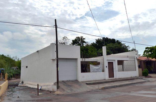 L'une des maisons ayant appartenu au baron de la drogue en fuite