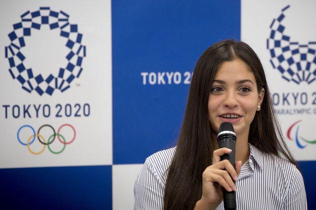 2017年8月に来日し、五輪東京大会の事務所を訪れたマルディニ選手