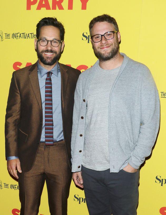 Paul Rudd (L) and Seth