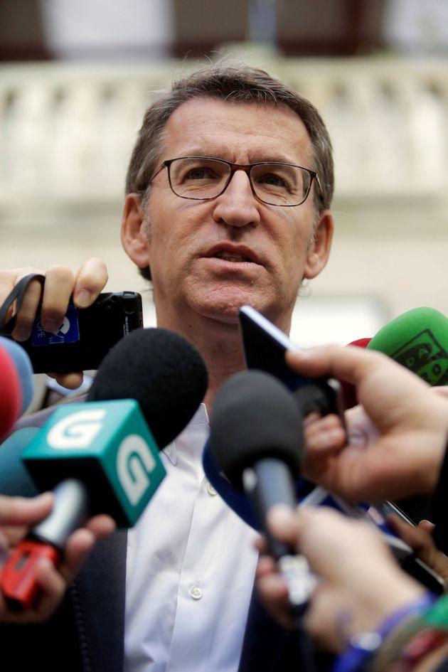 Alberto Nunez Feijóo, en una imagen de