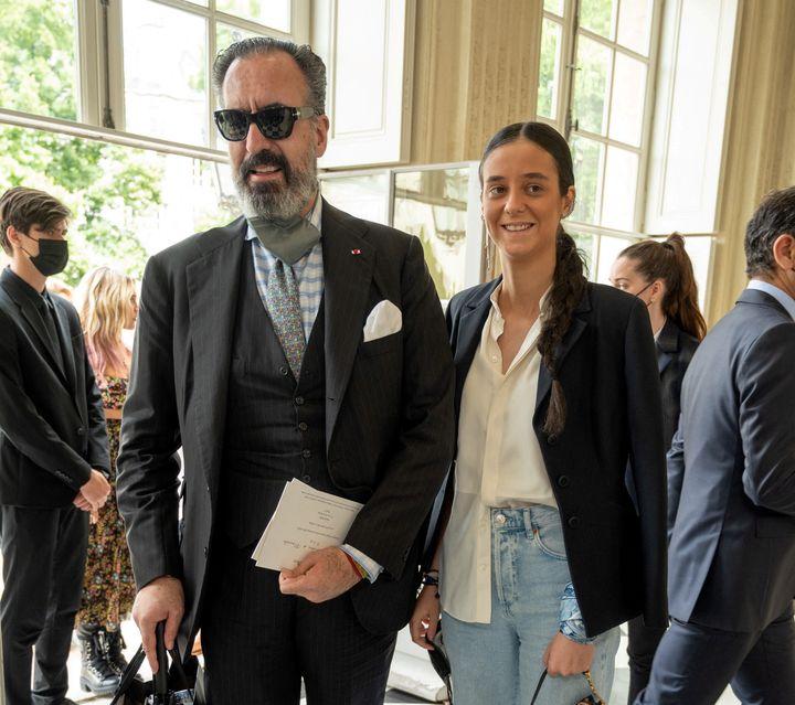 Jaime de Marichalar y Victoria Federica en París