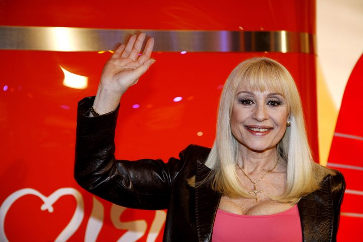 La Carrá, esa eterna diosa televisiva.