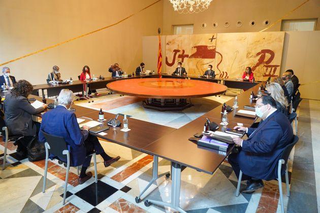 Reunión del Consell Executiu del 6 de julio de