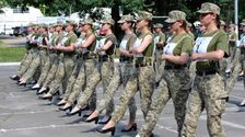Ukraine Army Criticized For Making Female Cadets Parade In Heels
