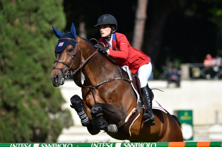 Jessica Springsteen and her horse, Don Juan van de Donkhoeve, will represent the U.S. at the Tokyo Olympics.
