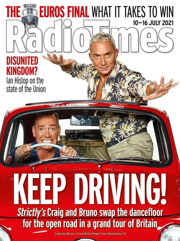 Craig Revel Horwood Jokes 'Diva' Bruno Tonioli 'Threatened To Kill Him' While Filming New Driving