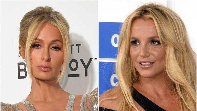 Paris Hilton and Britney