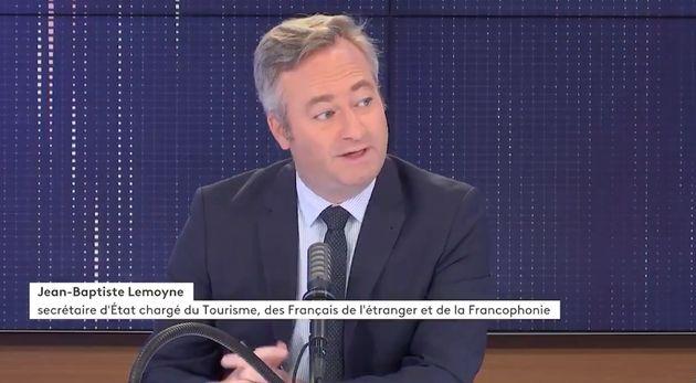 Jean-Baptiste Lemoyne chez France Info, mercredi 7