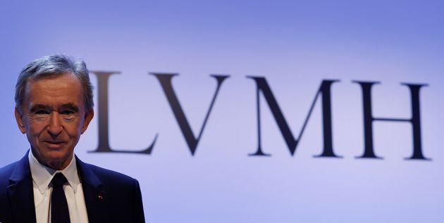 En 2021, le président directeur-général du groupe de luxe LVMH, Bernard Arnault...