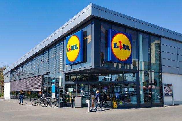 Un supermercado de Lidl en